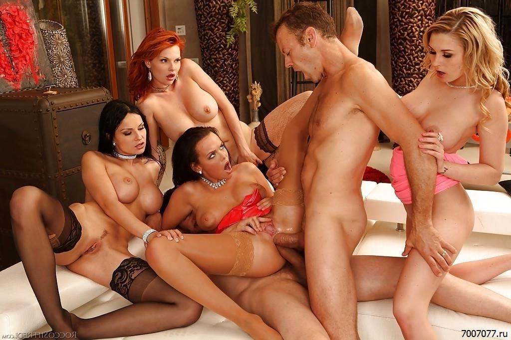 Секс С 4 Девушками