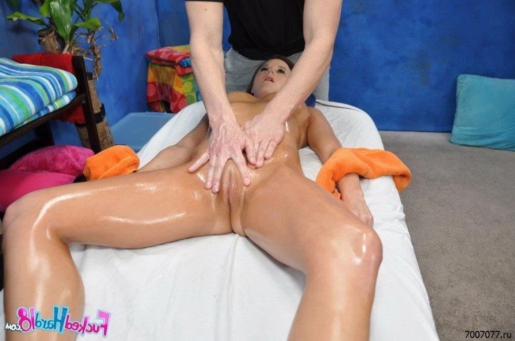 Секс В Кабинете Массажа