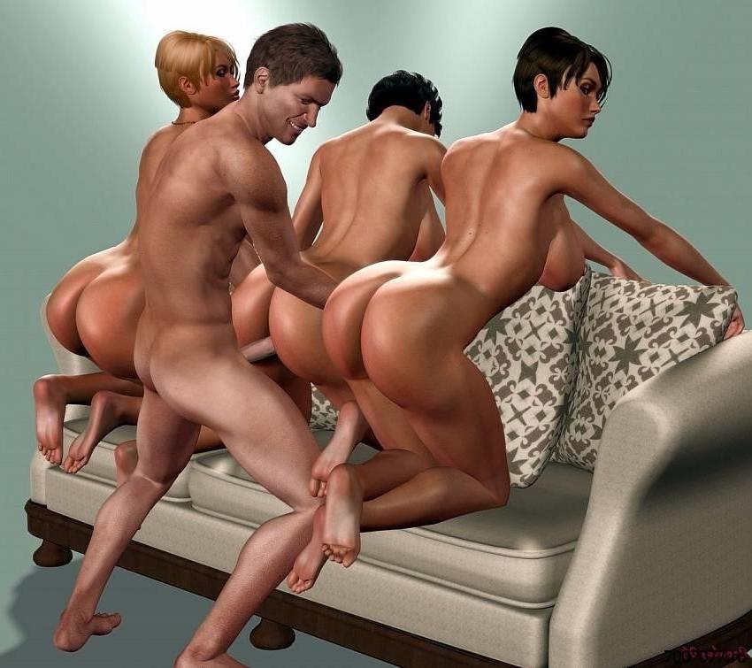 Секс Фото 3д