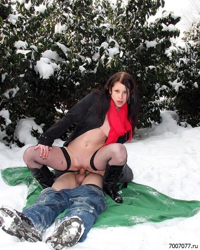 Видео Секс Зима